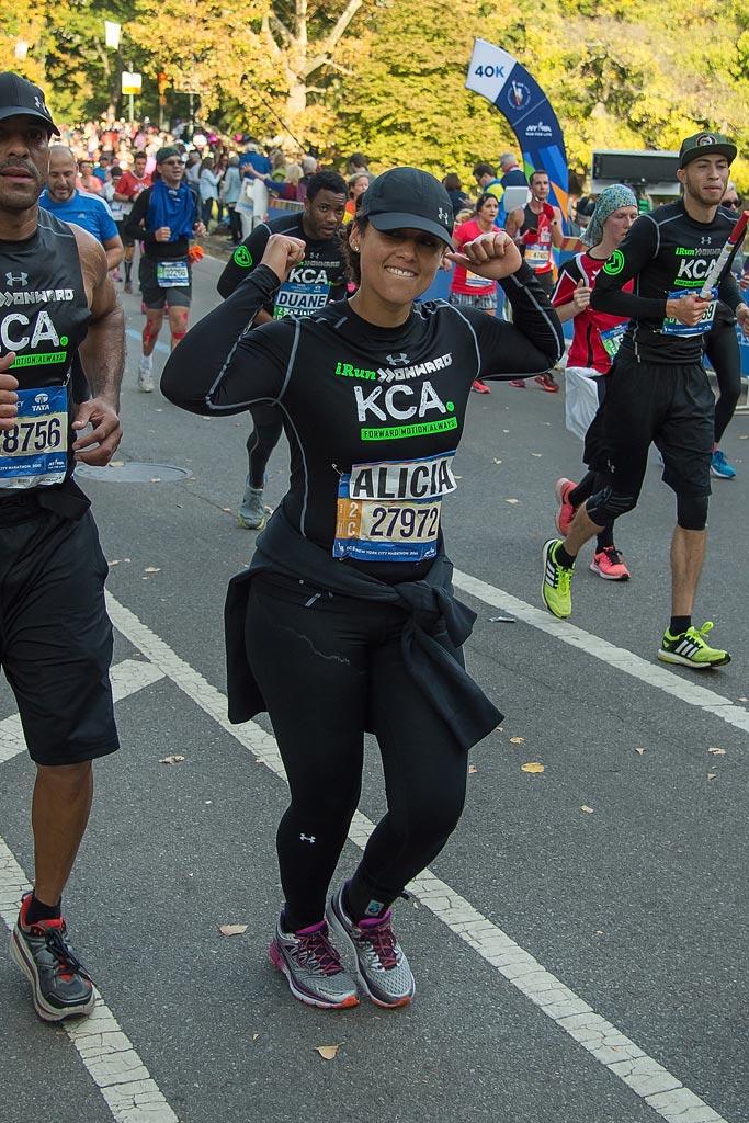 Alicia Keys NYC Marathon