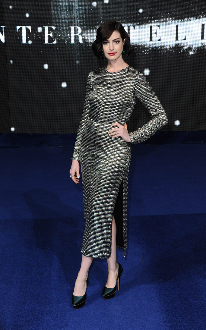 Anne Hathaway Shoes Style