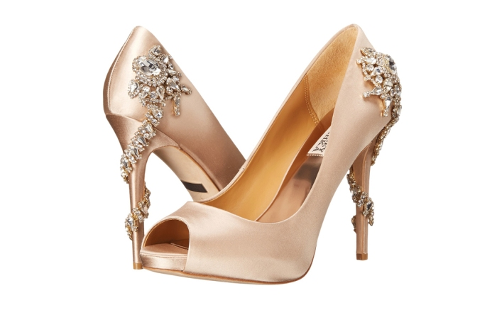 Badgley Mischka heels.