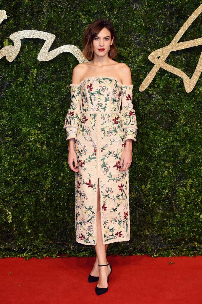 British Fashion Awards 2015: Red Carpet Celebrity Shoe Style