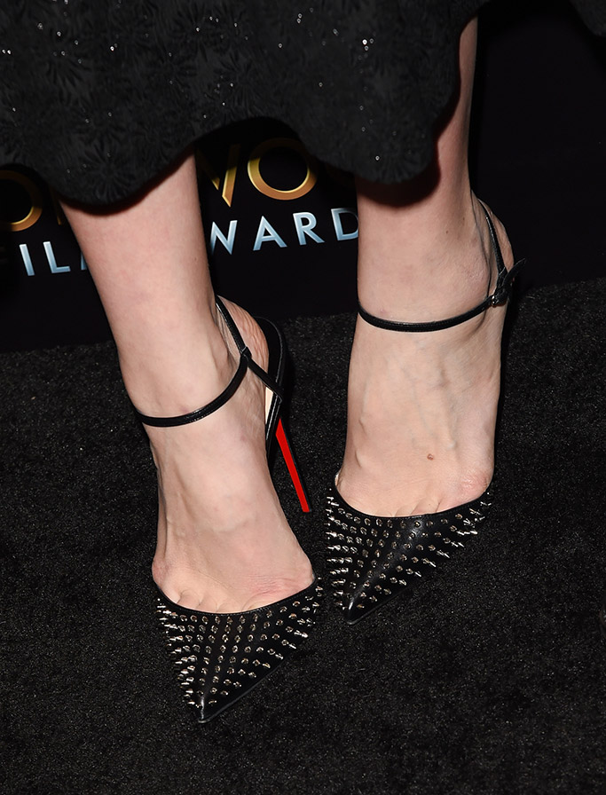 Carey Mulligan Hollywood Film Awards Red Carpet Christian Louboutin Shoes