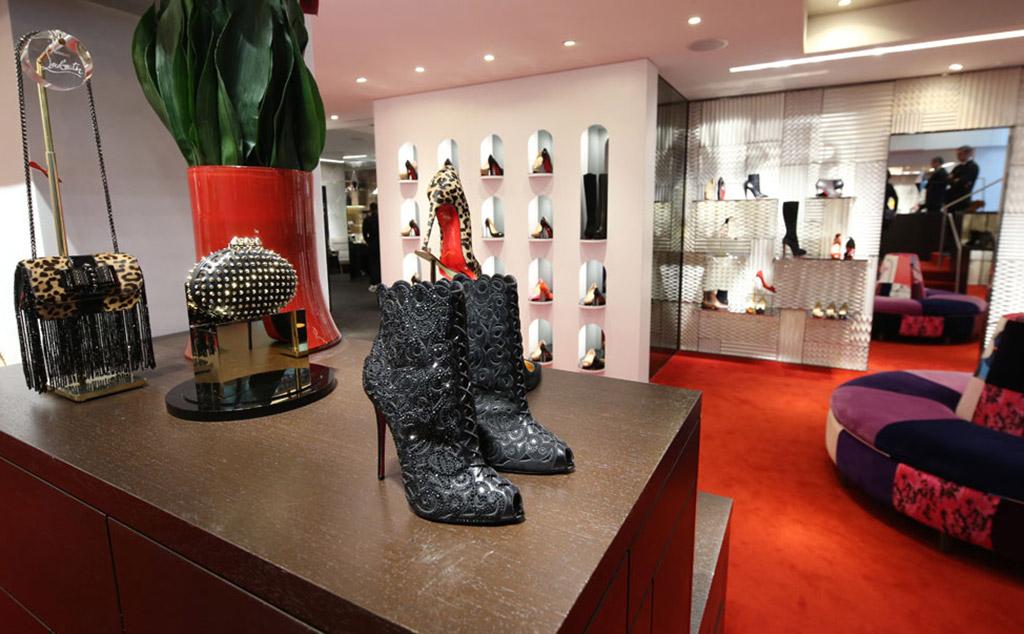 Christian Louboutin Madison Ave Store, NYC