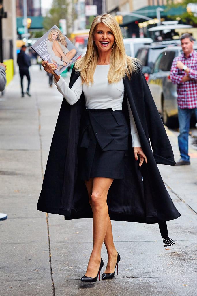 Christie Brinkley Celebrity Shoe Style