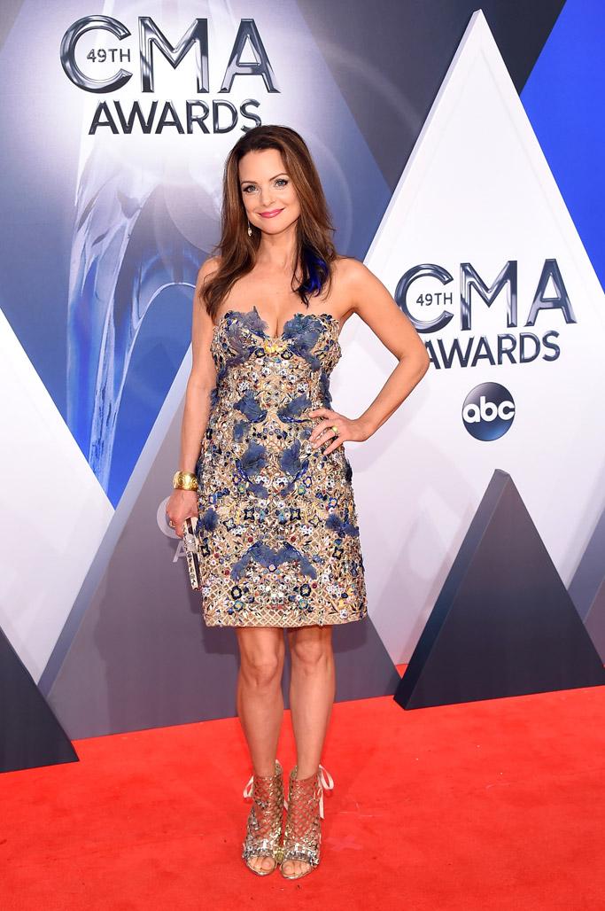 Kimberly Williams-Paisley 2015 CMA Awards