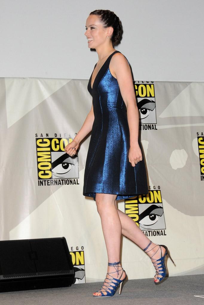 Daisy Ridley Celebrity Shoe Style