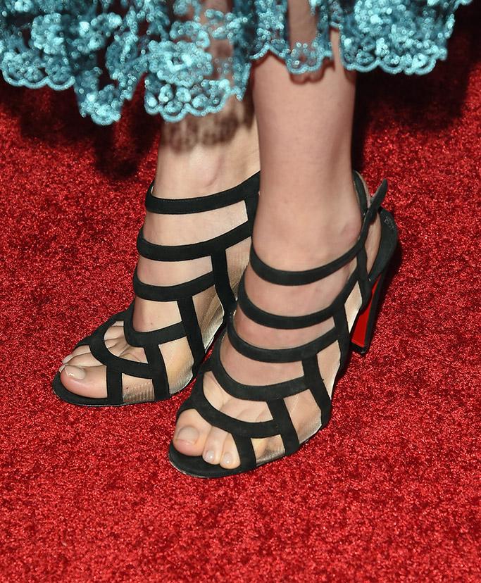 Dakota Johnson Hollywood Film Awards Red Carpet Christian Louboutin Shoes