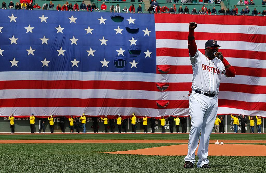 David Ortiz Marathon Red Sox Reebok