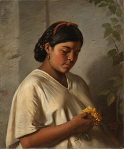 """""""Indian Woman With Marigold"""" by Felipe Santiago"""