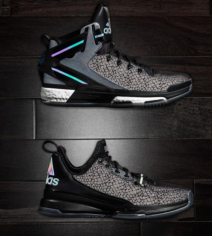 D Rose 6 & D Lillard 1 Iridescent Sneakers