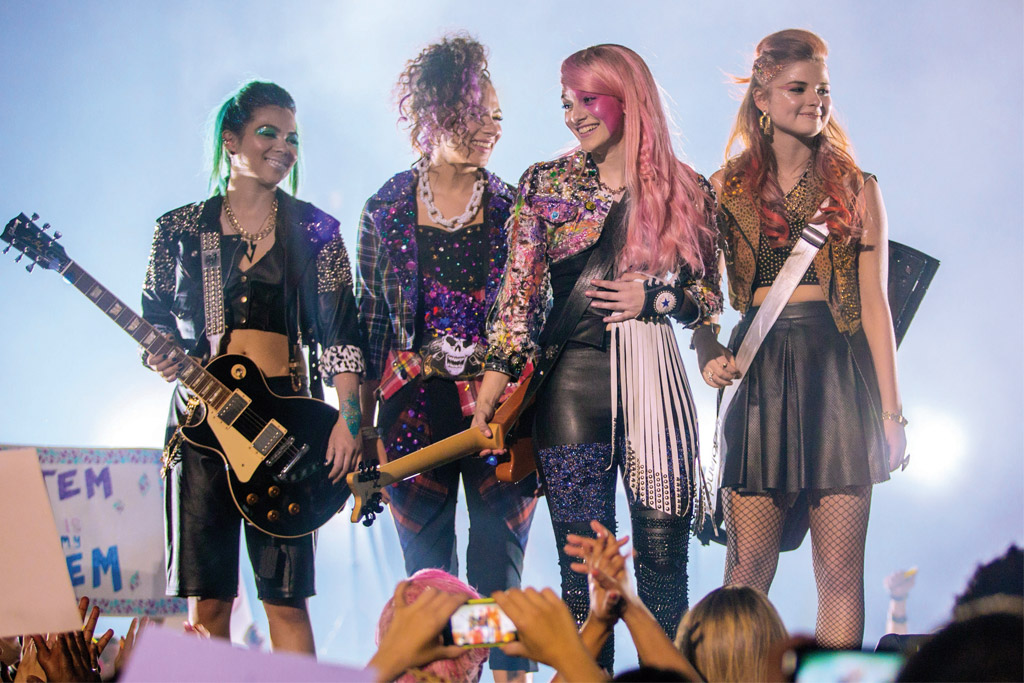 """""""Jem and the Holograms."""""""