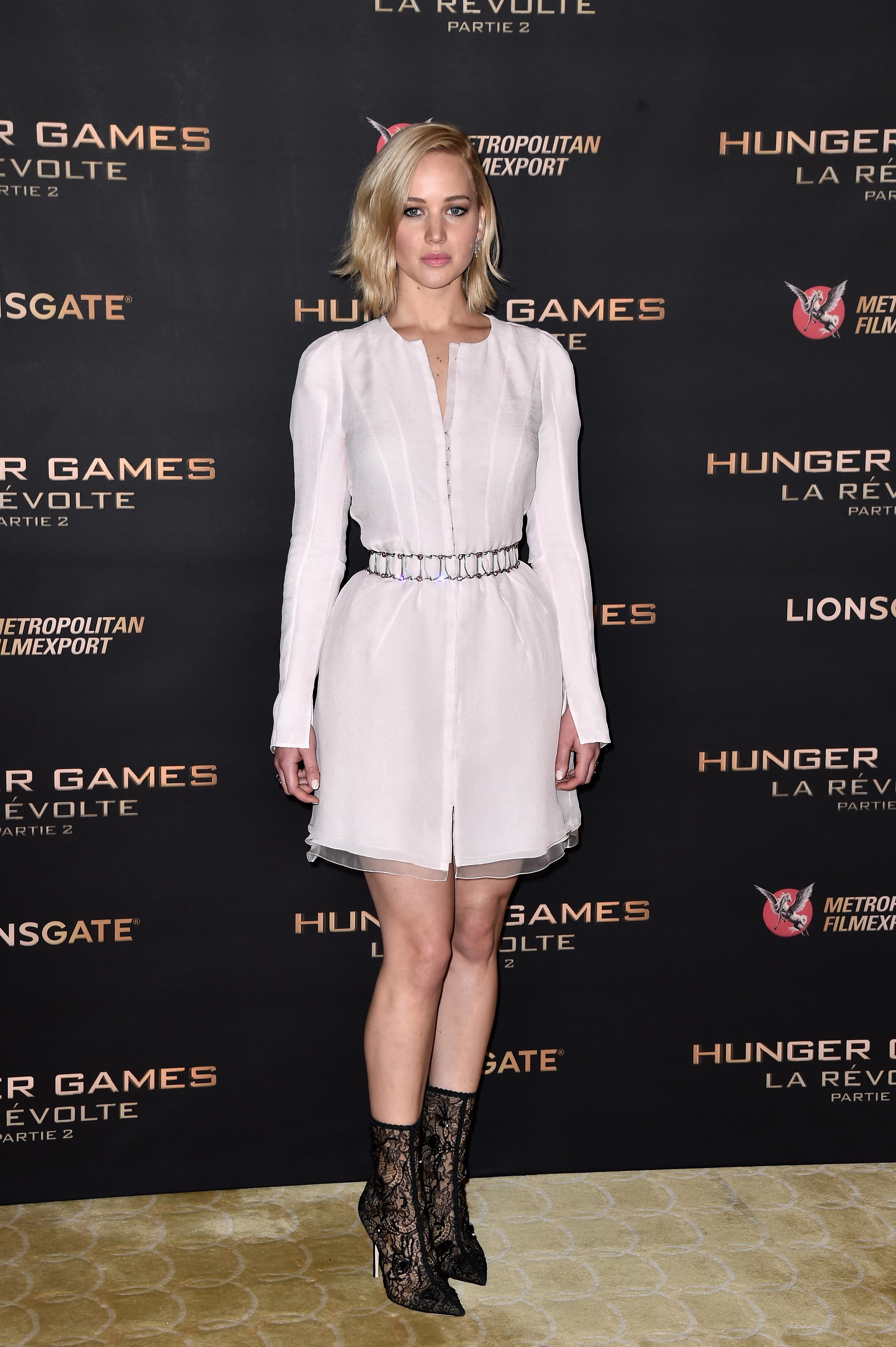 Jennifer Lawrence Dolce & Gabbana