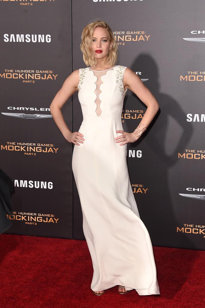 Jennifer Lawrence Mockingjay Part 2 Premiere Los Angeles