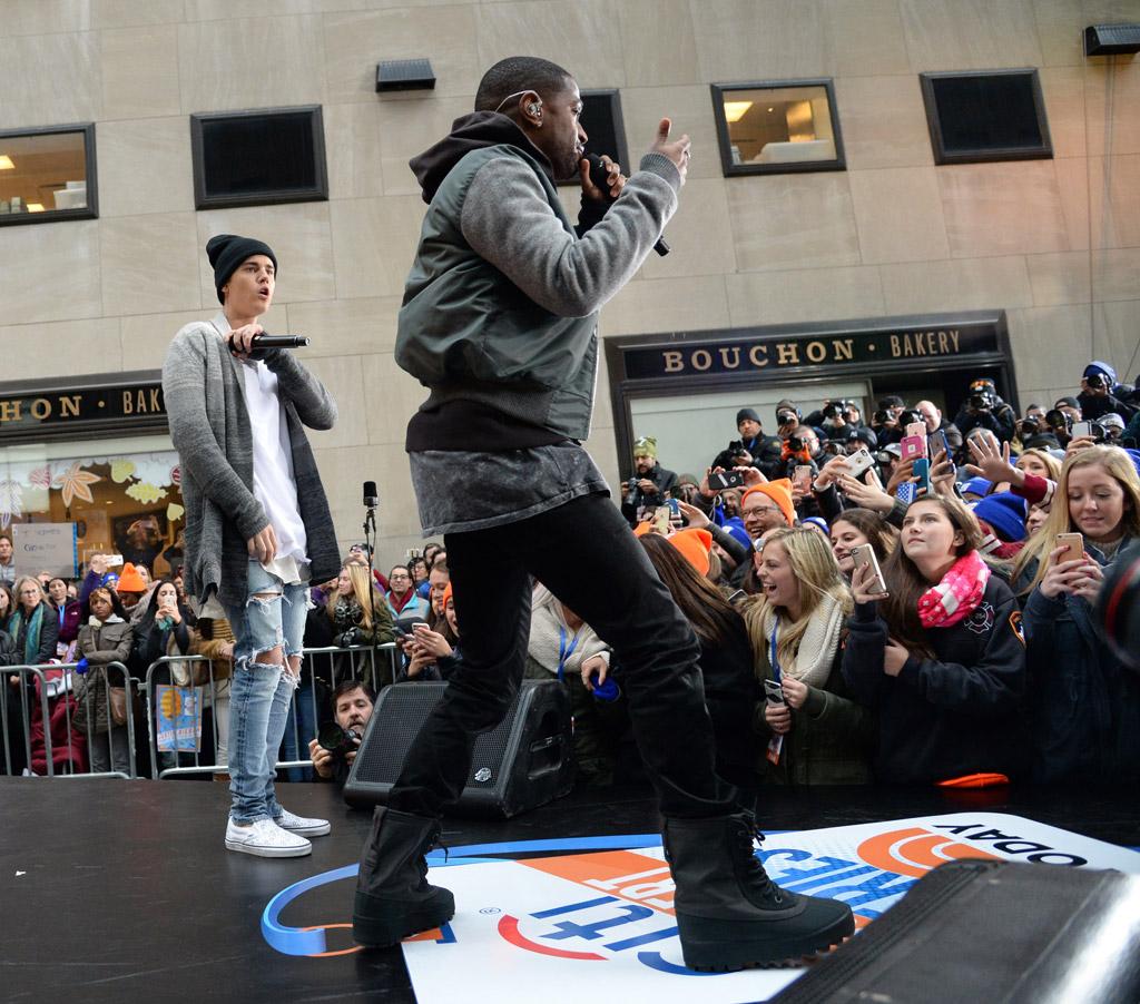 Justin Bieber Big Sean Today Show