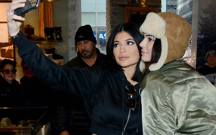 Kendall Kylie Jenner Shopping at Ugg in NYC