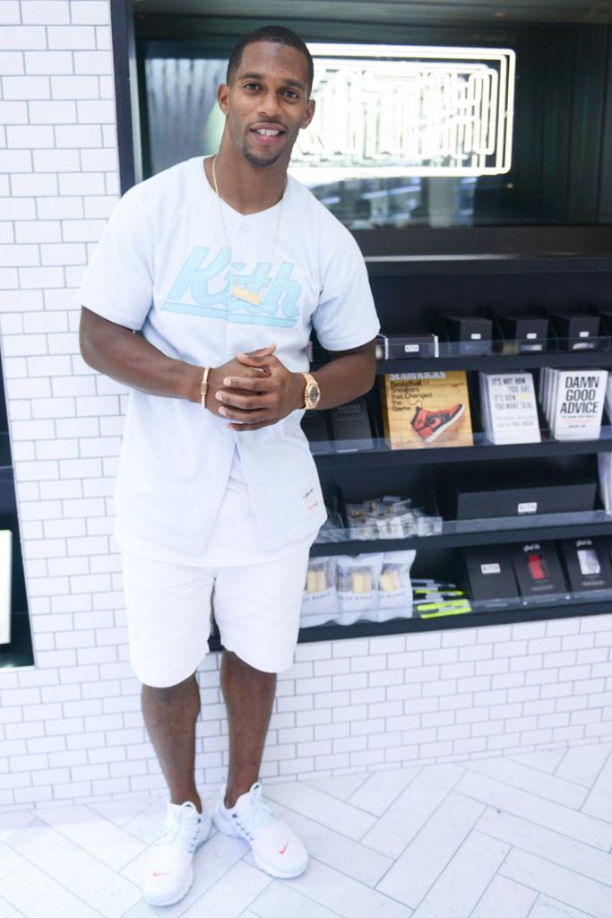 Victor Cruz Kith NYC Store Opening