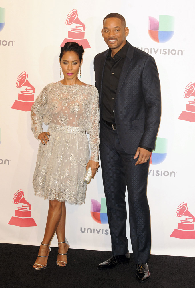 Jada Pinkett Smith, Will Smith 2015 Latin Grammys