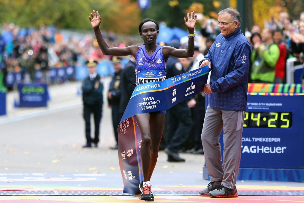 NYC Marathon Mary Keitany