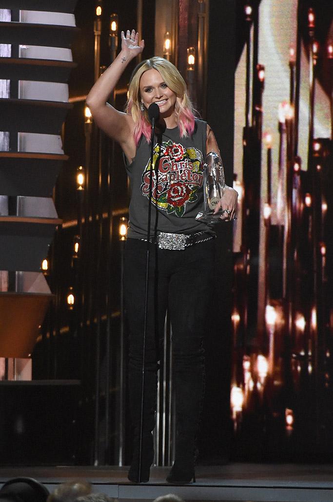 Miranda Lambert CMA Awards Shoes
