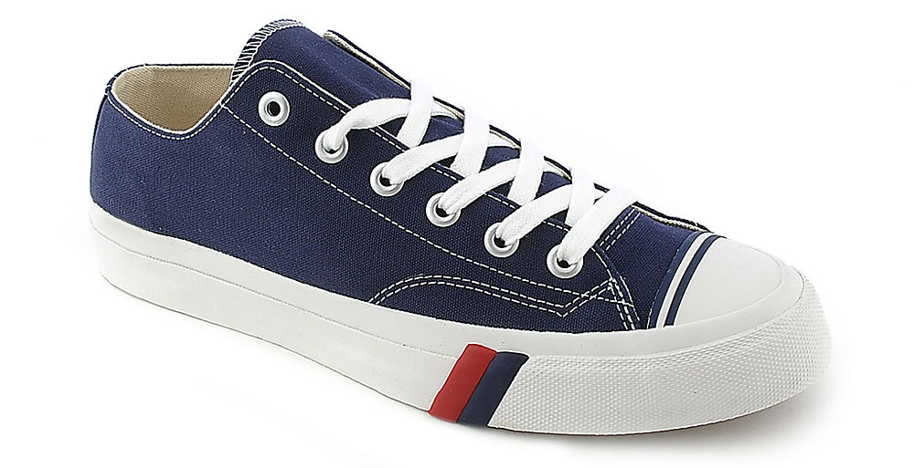 Navy Pro Keds sneakers