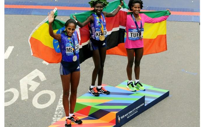 NYC Marathon Women's Winners