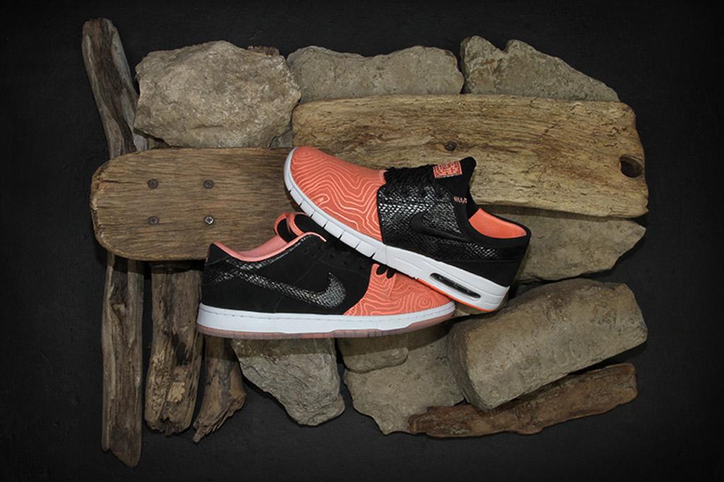 Premier x Nike SB Fish Ladder Janoski Max