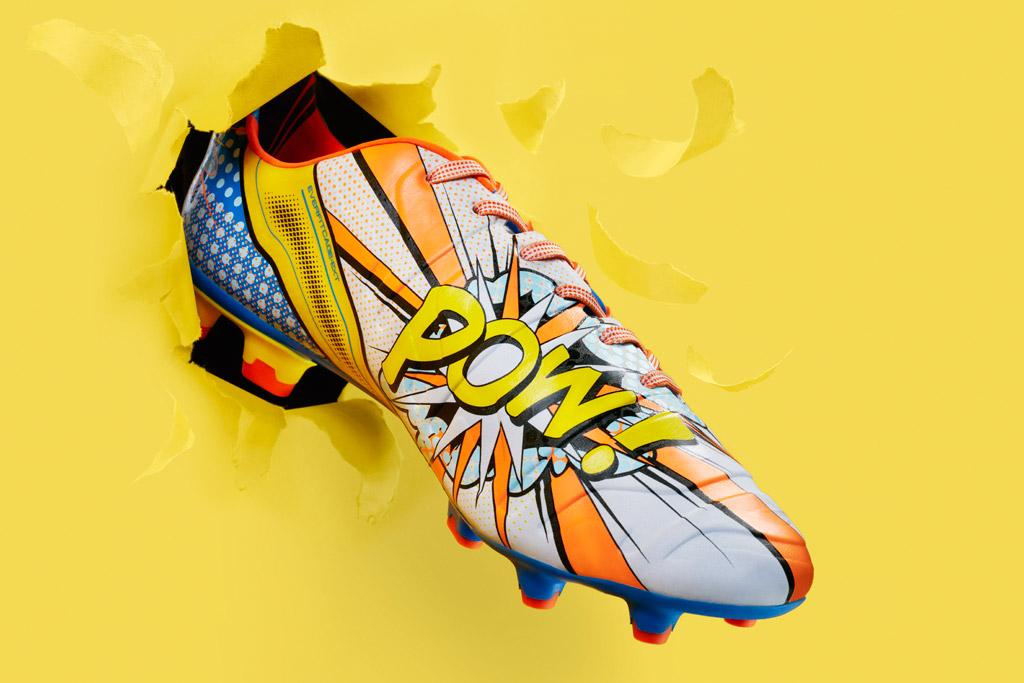 Puma Pop Art Soccer Cleats