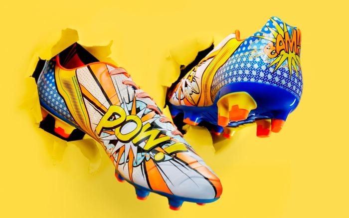 Pollinate carry out Warlike  Puma Unveils Pop Art Inspired Soccer Cleats [PHOTOS] – Footwear News