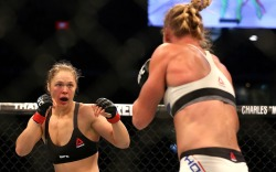 Ronda Rousey Holly Holm UFC Fight