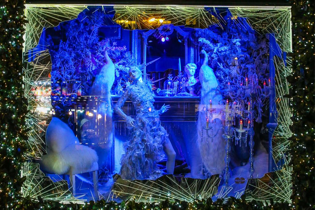 Saks Fifth Avenue 'Winter Palace' Holiday Windows 2015