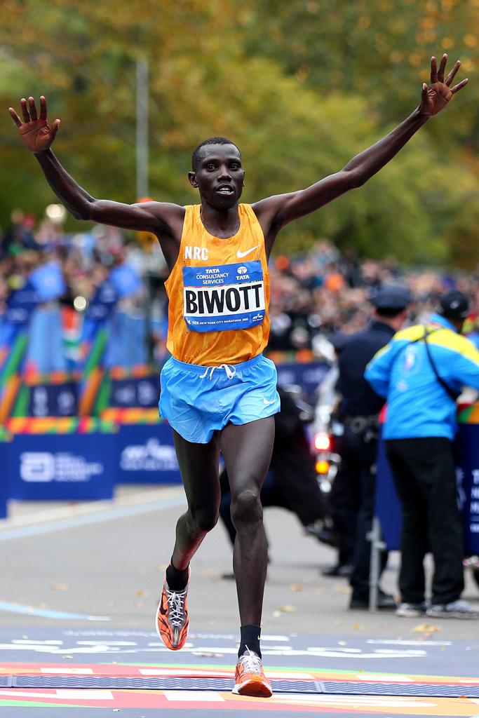 Stanley Biwott NYC Marathon