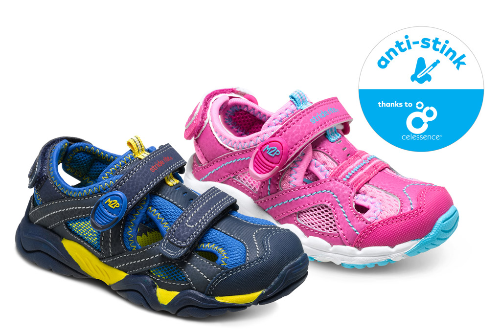 Stride Rite Teams With Celessence On