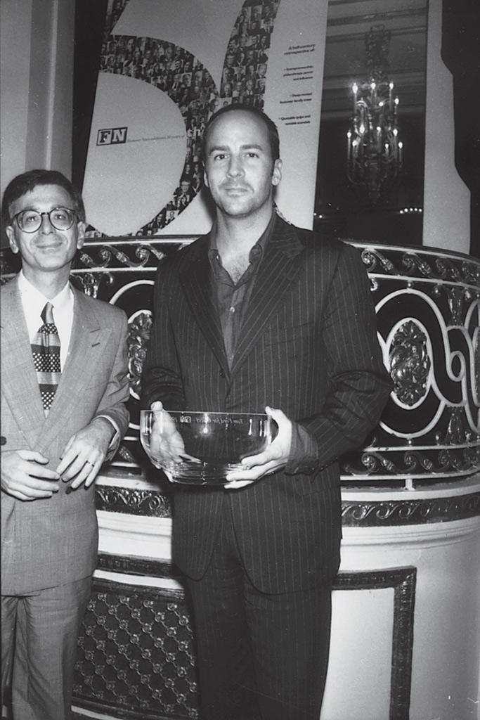 tom ford, fnaas, Footwear News Achievement Awards