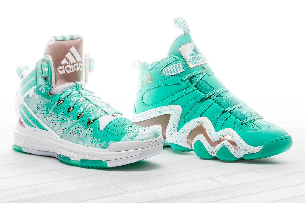 Adidas D Rose 6 and Crazy 8 Christmas Sneakers