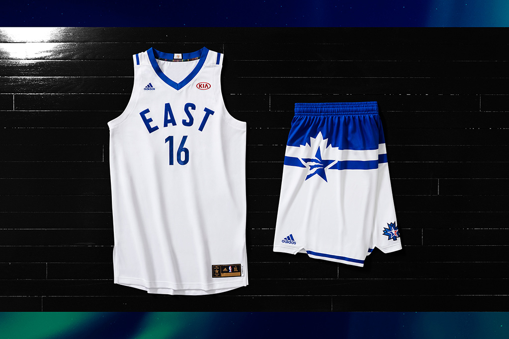Adidas NBA All-Star Uniforms 2016