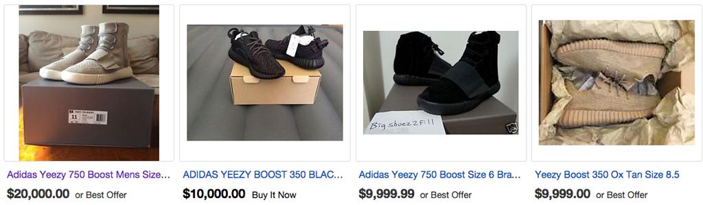 Yeezy Boost Sneakers eBay