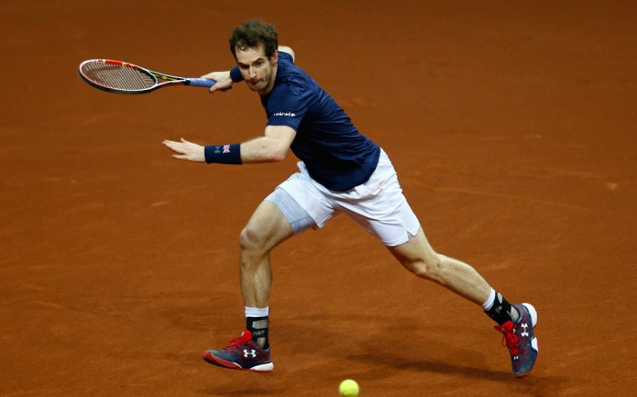 Andy Murray Davis Cup Under Armour