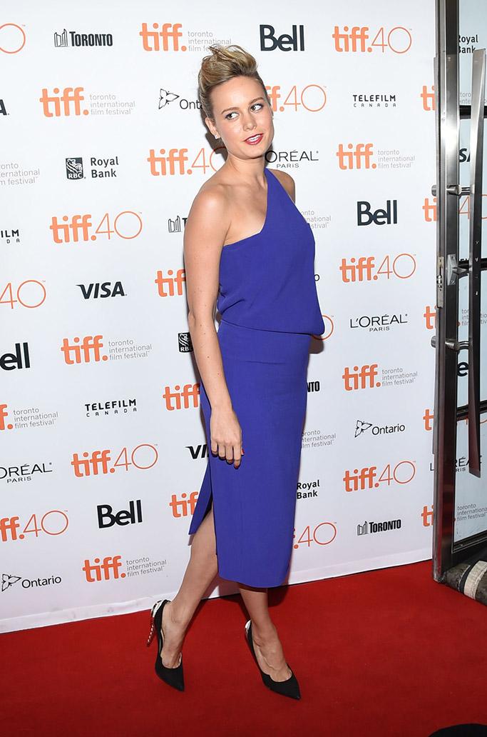 Brie Larson Celebrity Statement Shoes