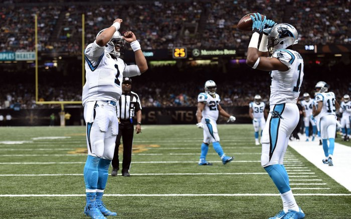 Cam Newton Carolina Panthers Devin Funchess Under Armour