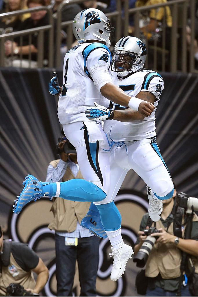 Carolina Panthers Mike Tolbert Cam Newton
