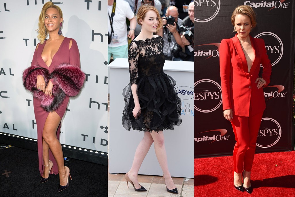 Celebrity Statement Shoes 2015 Most popular styles