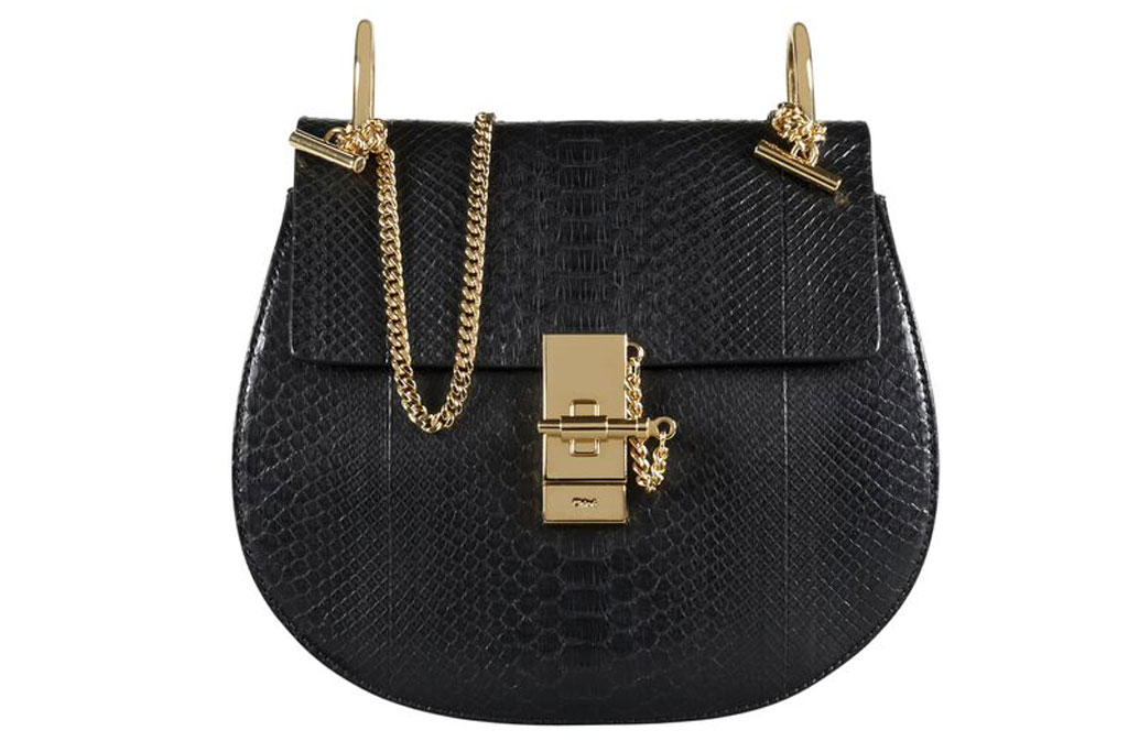 The Chloe bag in the special space.