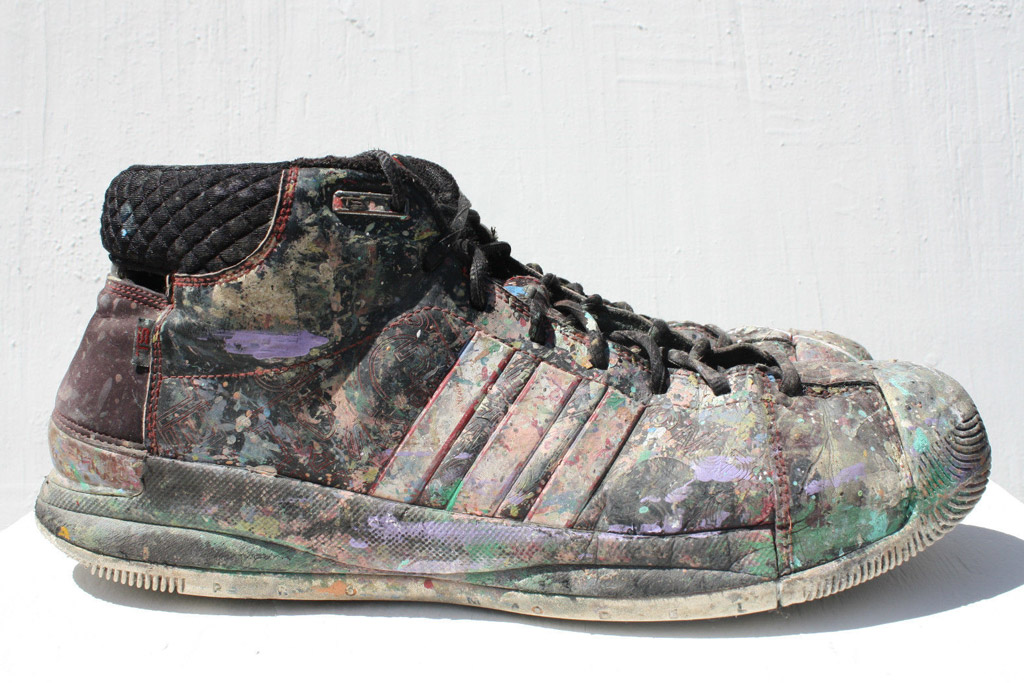 Chris Riggs For Mayor Adidas Sneakers