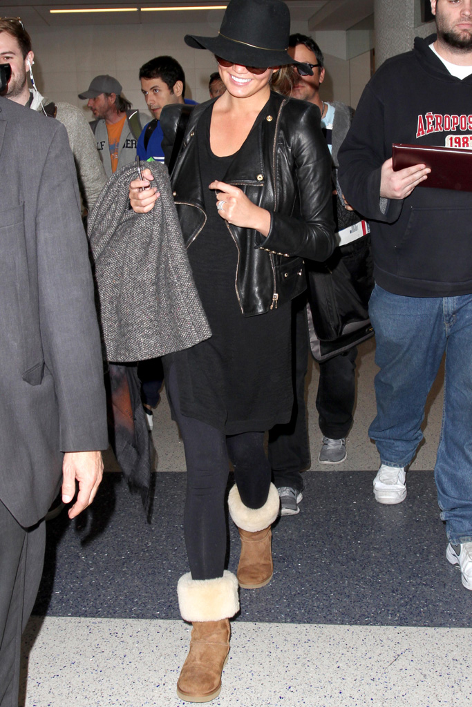 Celebrities Wearing Ugg Boots