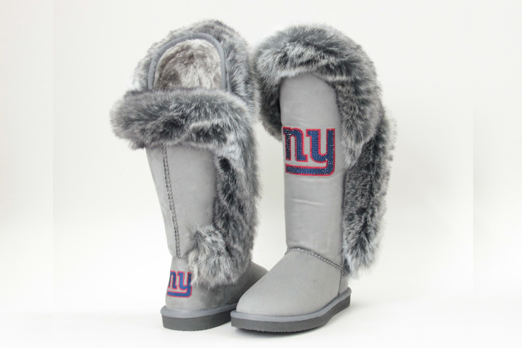 Cuce NY Giants official logo boot