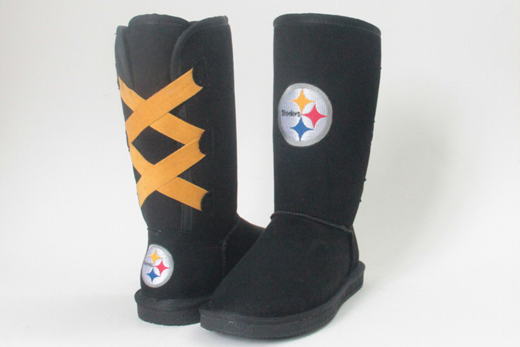 Cuce Pittsburgh Steelers official logo boot