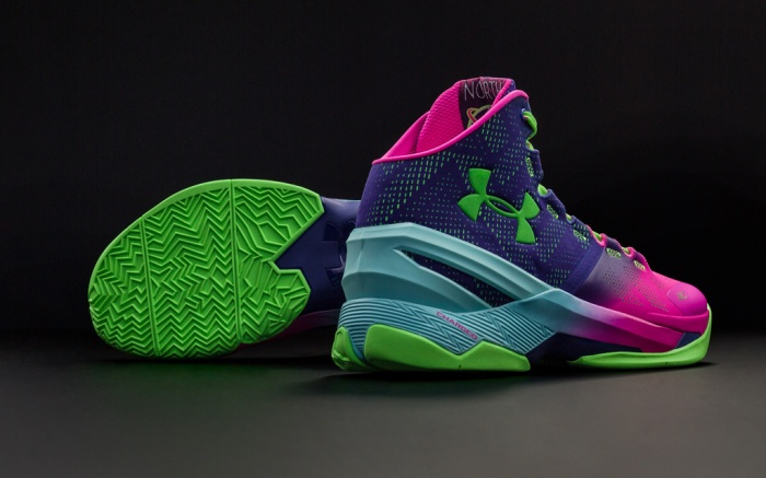 Under Armour Curry Two Northern Lights