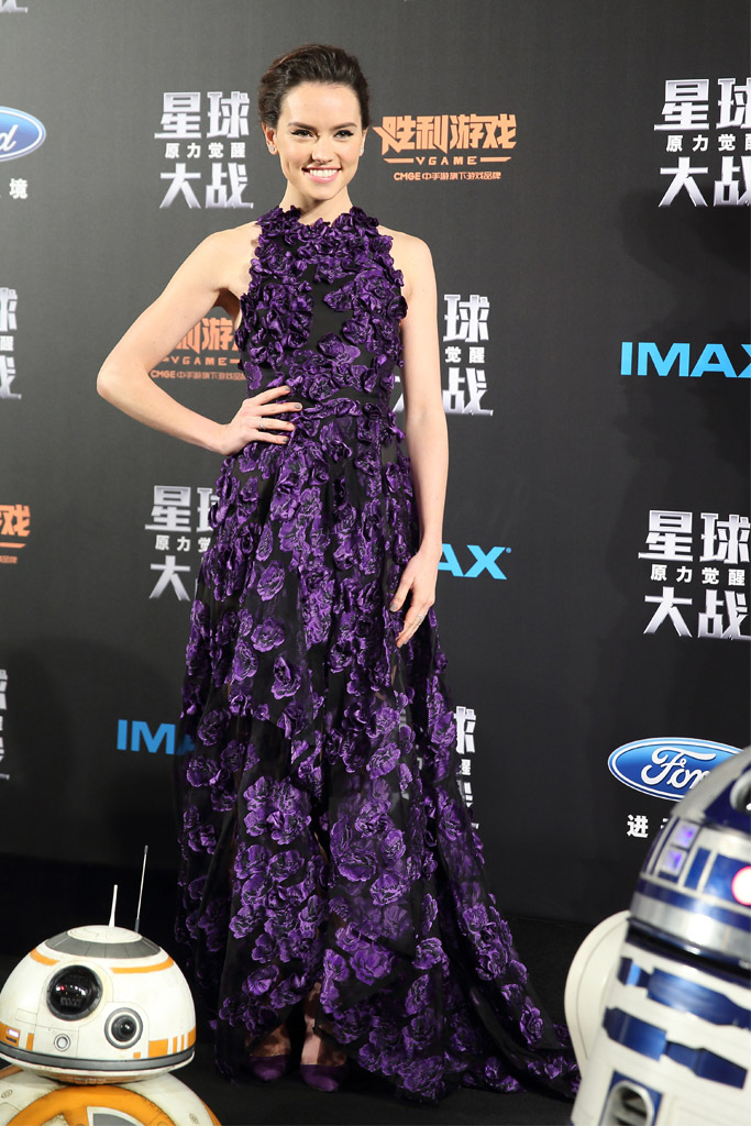 Daisy Ridley Celebrity Statement Shoes Winter 2015-2016