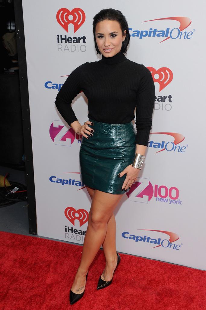 Demi Lovato Z100's Jingle Ball 2015