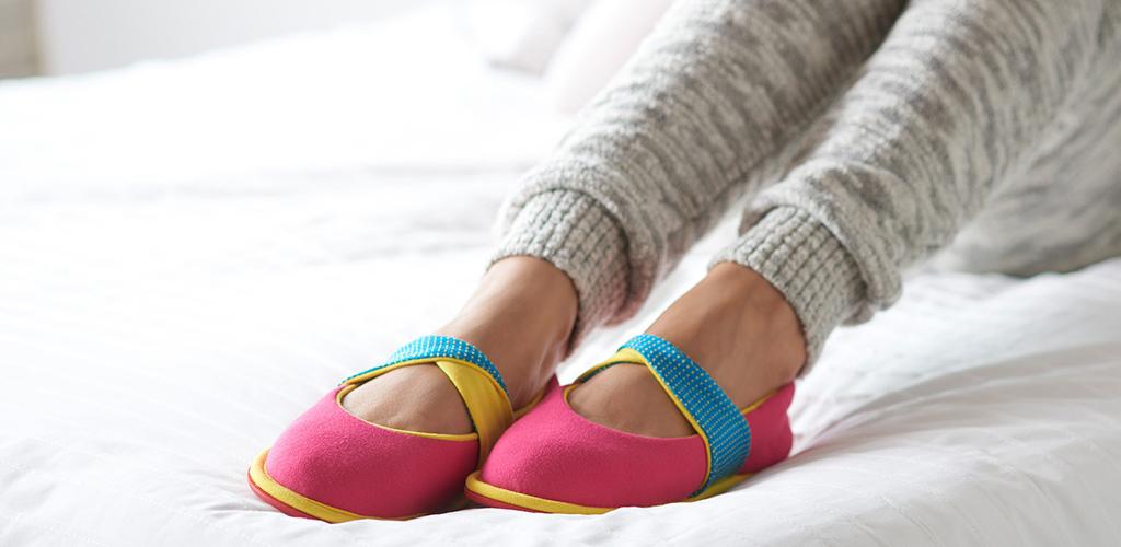 élé Insiders at-home shoes.