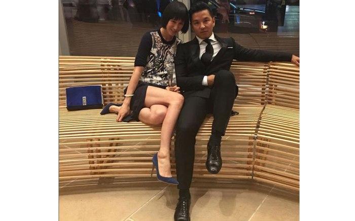 Eva Chen and Prabal Gurung on Instagram